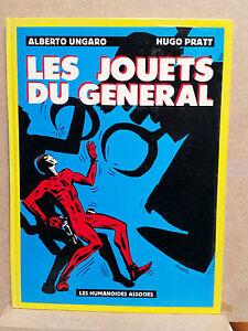Hugo-Pratt-Ungaro-Les-jouets-du-general-EO-1980-Les-Humanoides-associes