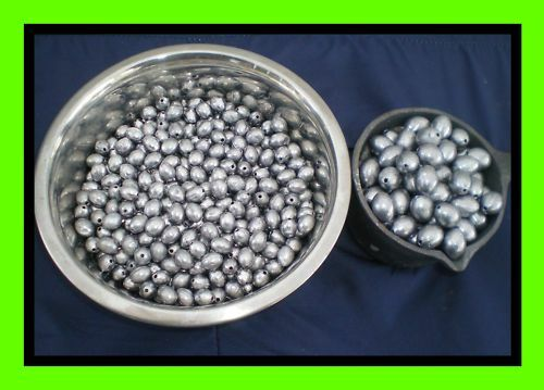 + 50 #8 SWIVELS MADE FROM DO-IT MOLD OZ 300 EGG SINKERS 1//8 GOOD QUALITY