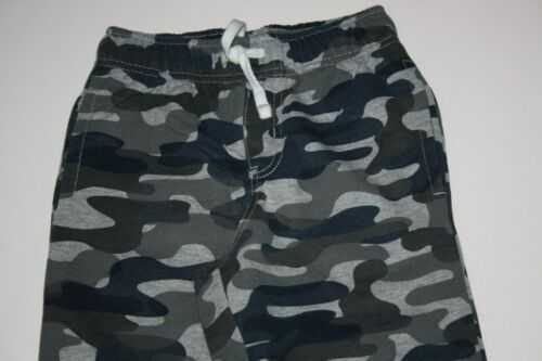 NEW Gymboree Boys Athletic Camo Blue Gray Jogger Sweatpants NWT 2T 4 Year