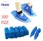 100-Pezzi-Copriscarpe-Calzari-Copriscarpa-Coprire-le-scarpe-Monouso-Usa-E-Getta miniatura 1