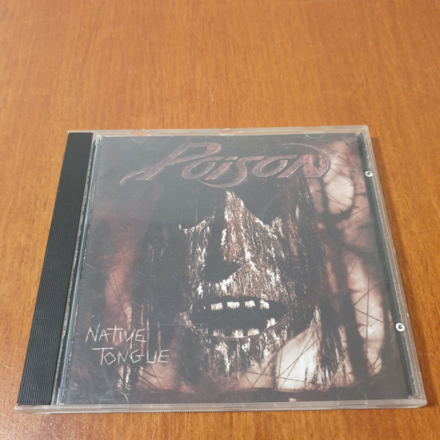 Poison: Native Tongue, rock, /Hard Rock/Glam. Fra…
