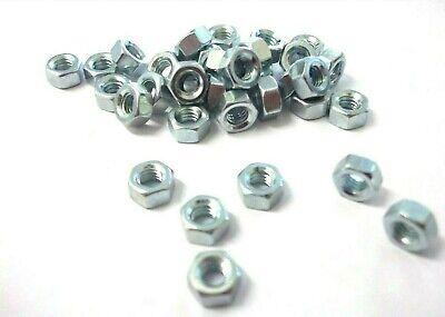 Ba Hexagon Full Nuts. 4ba. Steel. Full Nuts. Hex. Pack Of 20. *top Quality! Voldoende Aanbod