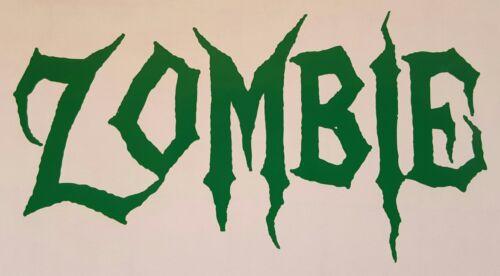 Viaje Zombie decal