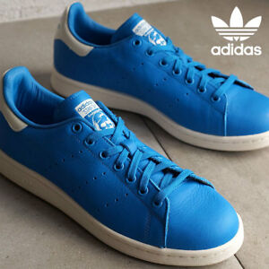 Adidas Originals Stan Smith Men's Scarpe Da Ginnastica Casual In Pelle Blu S79300