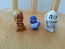 DISNEY ~ SOFIA THE FIRST Lot of 3 MIA CLOVER Animal Friends loose figures MINT