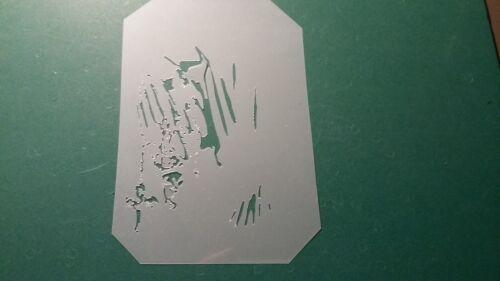 "58639 10/"" X 44/"" Mince quart Woodland Noël pensées imprimé tissu"