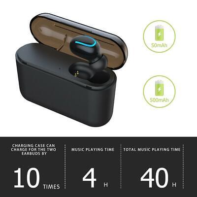 Bluetooth 5.0 Auriculares Inalámbricos Tws Mini Audífonos 5d Estéreo