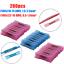thumbnail 17 - 400/200pcs 22-14 AWG Heat Shrink Butt Wire Splice Connectors Crimp Terminals