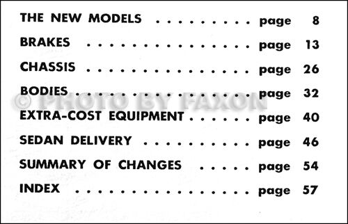 1951 Chevy Truck Engineering Features Manual Chevrolet Pickup Suburban Delivery