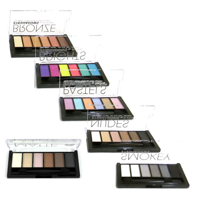 Technic Eyeshadow Palette ~ 6 Shade Kit ~ Including Matte