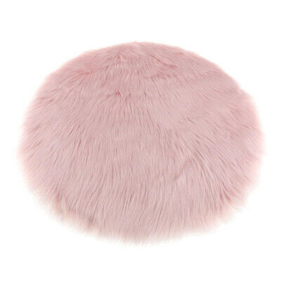 Light Pink Fluffy Mat Rugs Kids Soft