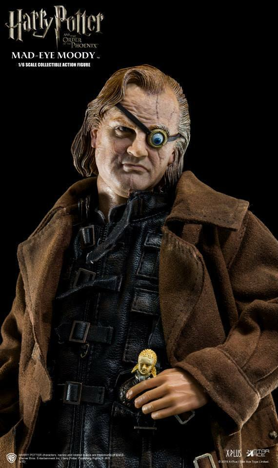 Escala 1:6 estrellas Ace Toys SA0006 Harry Potter Alastor Mad-Eye Moody figura