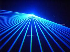 1000mw Blue DMX512 American ILDA DJ Club Laser Party stage lighting 1W Beam Show