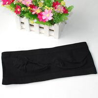 Fashion Lady's Sexy Strapless Crop Top Vest Bra Bandeau Boob Tube Brassiere