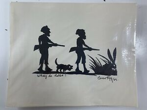 Vintage-Carew-Rice-Silhouette-PRINT-Whay-De-Rabbit-1969-Charleston-SC-8-5-x-11-034