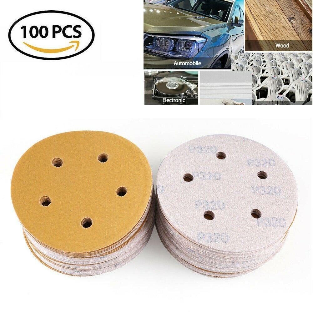 "50-5/"" SANDING DISCS sander floor wood auto abrasive hook /& loop PRO CUT USA"