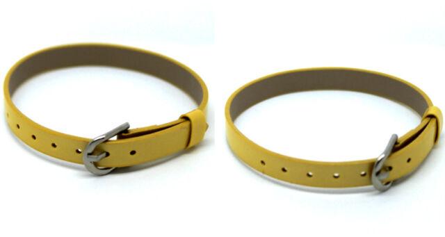 2015 Unisex Fashion Glossy Leather Wrap Wristband Belt Bracelet Bangle