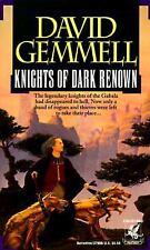 Knights of Dark Renown by David Gemmell 1993, Del Rey Fantasy Paperback