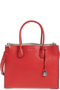 24ca2d93bc20 Image is loading Michael-Michael-Kors-Studio-Mercer-Large-Convertible-Tote-