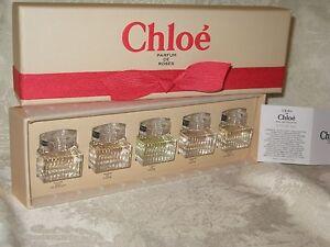 Chloe Parfum De Roses Eau De Parfum Eau De Toilette Set New Ebay