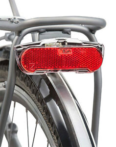 Axa-Slim-Pannier-Rack-Fit-LED-DYNAMO-Rear-Bicycle-Light-Standlight-non-flash