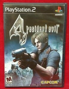 Resident Evil 4 -  Playstation 2 PS2 Game Working Tested Complete - 1 Owner
