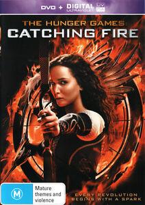 The Hunger Games: Catching Fire (DVD/UV) * NEW DVD * (Region 4 Australia)
