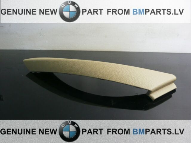 NEW OEM BMW 3 E90 E91 E92 LCI INTERIO HANDLE PULL CLASP TRIM BEIGE RIGHT 6971294