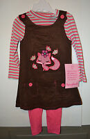 Young Heart Toddlers Girl's 2 Piece Set Size 3t