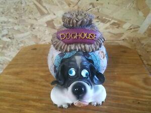 Doghouse Piggy bank - snail like dog