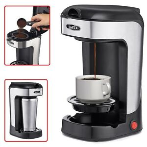 SINGLE-CUP-COFFEE-MAKER-One-Scoop-Sole-Mug-Personal-Drink-Making-Kitchen-Machine