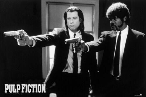 Pulp Fiction Guns Tarantino Travolta Maxi Poster Print 61x91.5cm24x36 inches