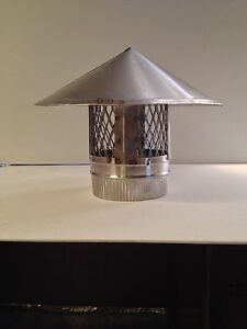 5 Inch Stove Pipe Stainless Steel Chimney Cap Made In