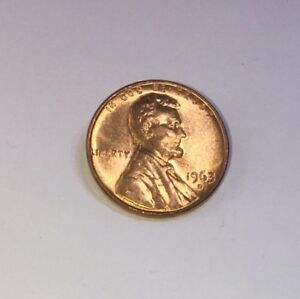 1959 LINCOLN MEMORIAL SMALL CENT UNCIRCULATED BRIGHT RED