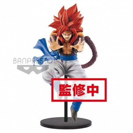 Super Saiyan 4 Gogeta Big Bang KA-ME-HA-ME-HA 19 cm BANPRESTO DRAGON BALL
