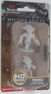 MYCONID ADULTS Nolzur's Marvelous Miniatures Unpainted D&D Dungeons & Dragons