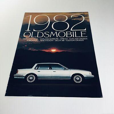 1982 oldsmobile cutlass ciera supreme omega cruiser 9 81 car sales brochure ebay ebay