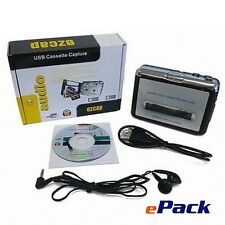 New Tape to PC USB Super Cassette to MP3 Converter Capture Audio Music Player