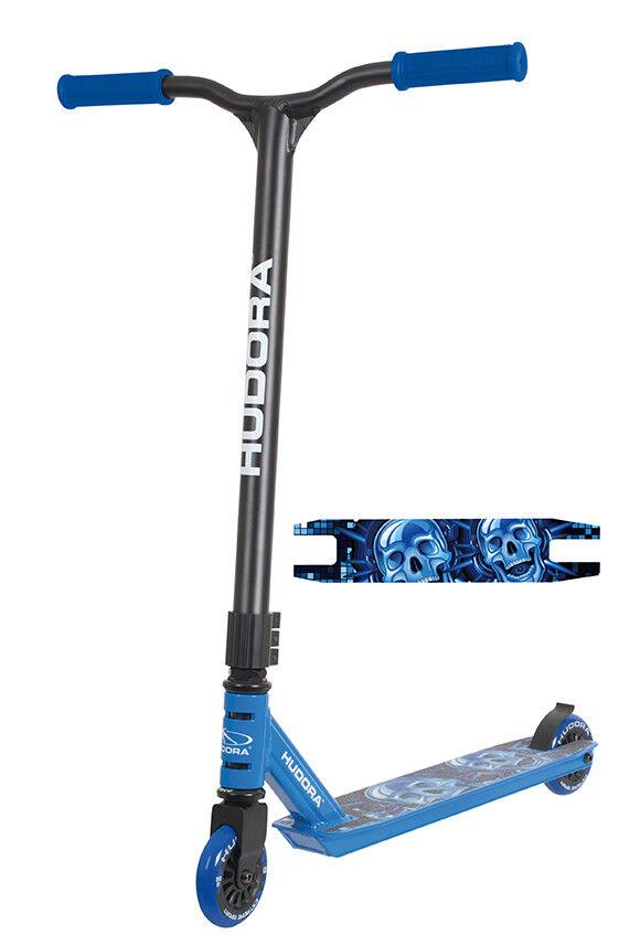 Hudora XQ-12 14025 Roller Freestyle Scooter schwarz blau 14025 XQ-12 Free Style Stuntscooter d0c531