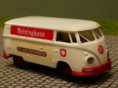 1//87 Brekina # 1123 VW T1 b Pr Karlsberg Bier Sondermodell Reinhardt