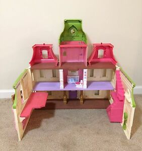 Fisher-Price Loving Family Dollhouse House with Sounds and Lights!