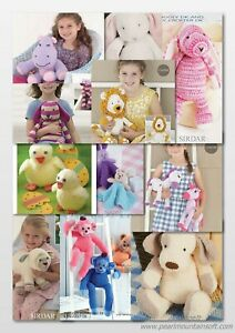 Sirdar Snuggly Snowflake/Ophelia/Baby Crofter Toy Patterns  £2.90 each