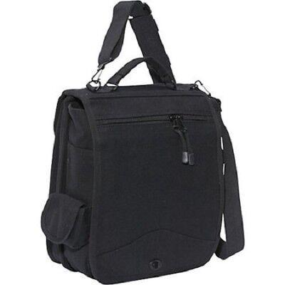 Black Military M-51 Engineers Bag Canvas Field Bag Shoulder Bag School Bag 8112