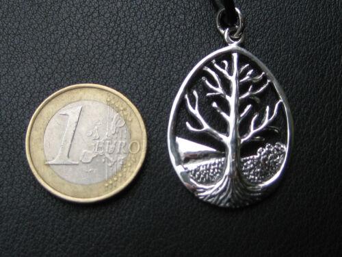 Árbol de la vida 925/'er plata Asatru mundos árbol Ygdrasil cadenas colgante//ka 059