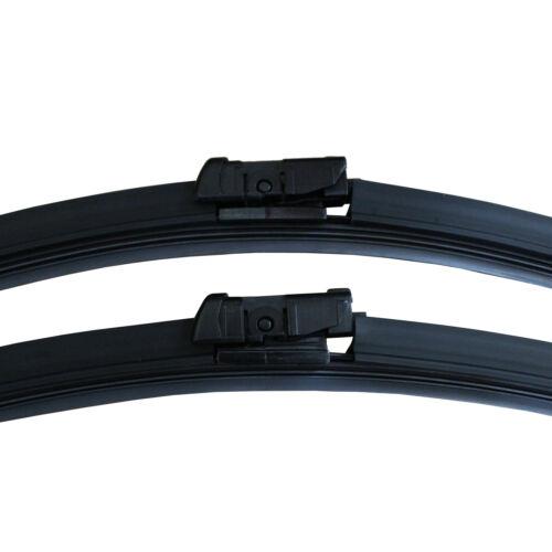 """For Skoda Fabia Estate Aero VU Front Flat Windscreen Wiper Blades 21//21/"""" Inch"""