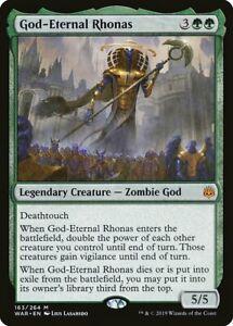 God-Eternal Rhonas x1 Magic the Gathering 1x War of the Spark mtg card