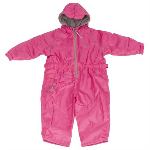 Pink 18-24 Months Hippychick Fleece Lined Waterproof All-in-one Suit Pink
