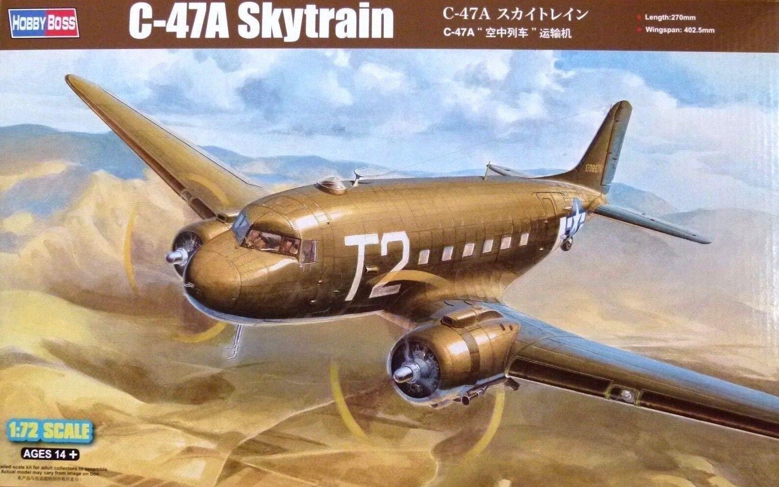 Hobbyboss 1 72 C-47A Skytrain Aircraft Model Kit