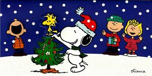 Snoopy And Woodstock Christmas.Details About Peanuts Snoopy Woodstock Glitter Christmas Card 2017 Very Nice From Hallmark
