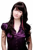 Wig With Brown, Long, Beautiful Curly Hair And Fringe 9204s-2t33